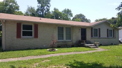 Christian County, Ky, Todd County, Ky, Montgomery County Single Family Home For Sale: 2317 Pendleton Dr