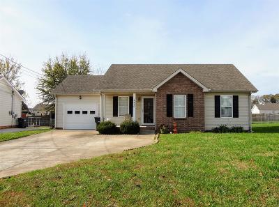 Clarksville Single Family Home For Sale: 3430 Kingfisher Dr