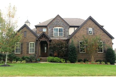 Nolensville Single Family Home For Sale: 300 Crescent Moon Cir