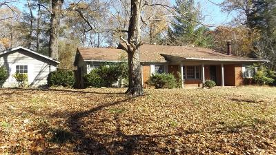 Clarksville Single Family Home For Sale: 1981 Church Rd