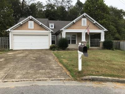 Antioch Single Family Home Under Contract - Showing: 1016 Brianne Ct