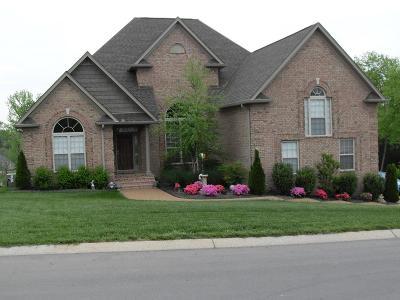 Mount Juliet Single Family Home Under Contract - Showing: 233 Hidden Harbour Dr