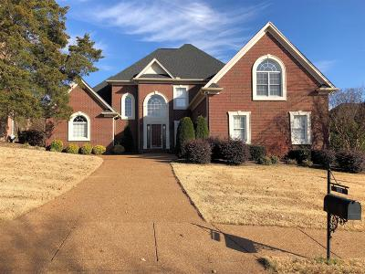 Goodlettsville Single Family Home For Sale: 1281 Twelve Stones Crossing