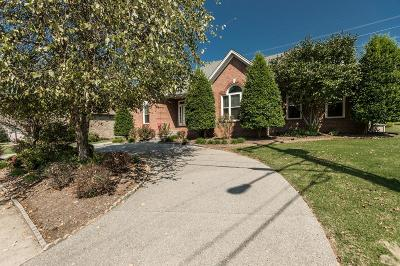 Hendersonville Single Family Home Under Contract - Showing: 120 Tamaras Way