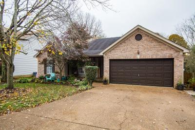 Old Hickory Single Family Home Under Contract - Showing: 617 Granwood Blvd