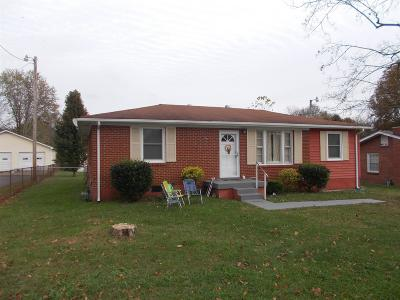Ashland City TN Single Family Home Under Contract - Showing: $154,900