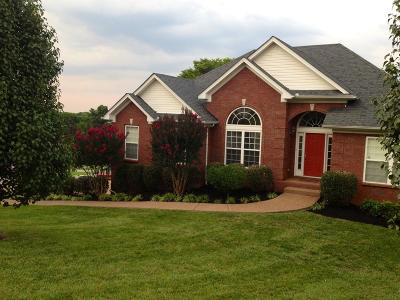 Nolensville Single Family Home Under Contract - Showing: 1263 Ben Hill Blvd