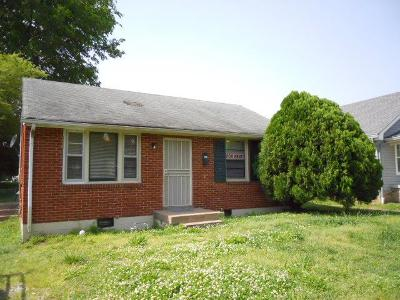 Old Hickory Single Family Home For Sale: 345 Rayon Dr
