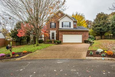 Williamson County Single Family Home Under Contract - Showing: 803 Winners Circle Ct
