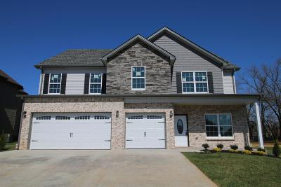 Clarksville Single Family Home Under Contract - Showing: 133 Summerfield