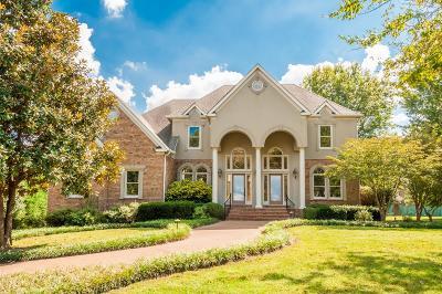 Franklin Single Family Home For Sale: 1702 Bluelake Ct