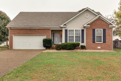 Williamson County Single Family Home Under Contract - Showing: 1743 Shane Dr