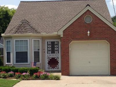 Davidson County Single Family Home For Sale