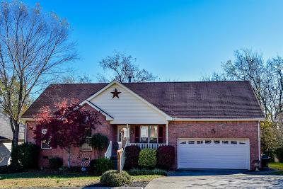 Hendersonville Single Family Home Under Contract - Showing: 140 Homestead Pl