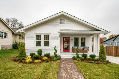 Nashville Single Family Home For Sale: 1612 Lillian