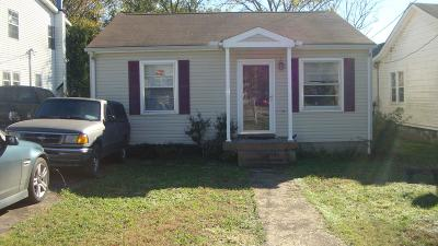 Nashville Single Family Home For Sale: 4907 Illinois Ave