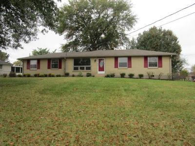 Hendersonville Single Family Home For Sale: 113 Georgetown Dr