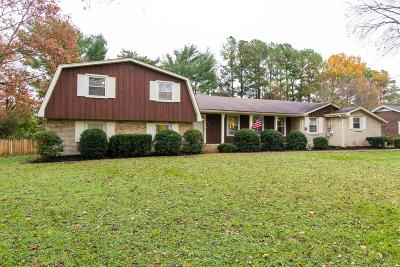 Hendersonville Single Family Home Under Contract - Showing: 118 Sherbrooke Ln