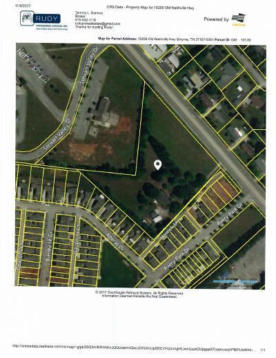 Smyrna Residential Lots & Land For Sale: 10259 Old Nashville Hwy