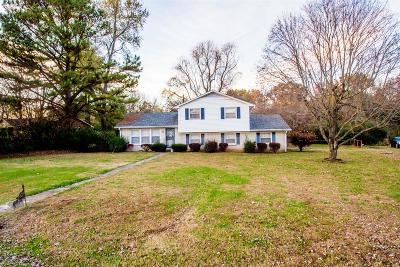 Clarksville Single Family Home For Sale: 319 Notgrass Rd