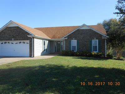 Christian County, Ky, Todd County, Ky, Montgomery County Single Family Home Under Contract - Showing: 2453 Widgeon Drive