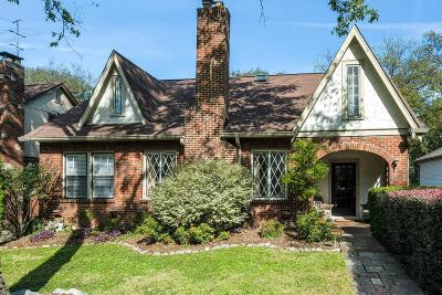 Nashville Single Family Home For Sale: 2700 Westwood Ave