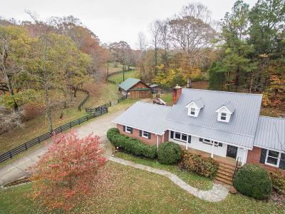 Franklin Single Family Home For Sale: 3348 Sweeney Hollow Rd