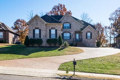 Hendersonville Single Family Home Under Contract - Showing: 1004 Tower Hill Ln