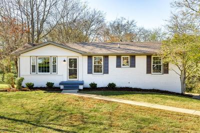 Hendersonville Single Family Home Under Contract - Showing: 208 Elnora Ct