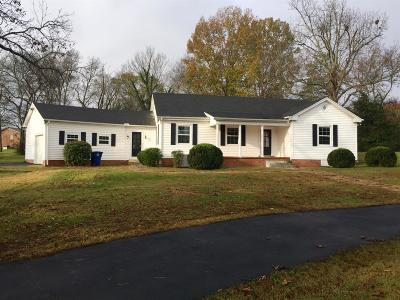 Shelbyville Single Family Home For Sale: 310 Hickory Dr