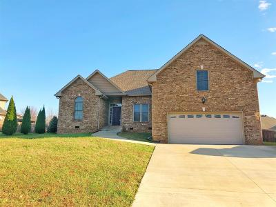 Christian County, Ky, Todd County, Ky, Montgomery County Single Family Home For Sale: 827 Iron Wood Cir