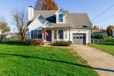 Christian County, Ky, Todd County, Ky, Montgomery County Single Family Home For Sale: 1068 Biltmore Pl