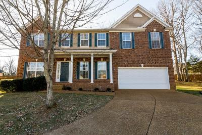Spring Hill Single Family Home For Sale: 5003 Burtonwood Way