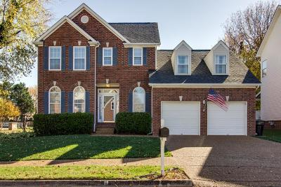 Franklin TN Single Family Home For Sale: $432,500