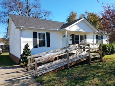 Lebanon Single Family Home Under Contract - Showing: 601 N Greenwood Ext