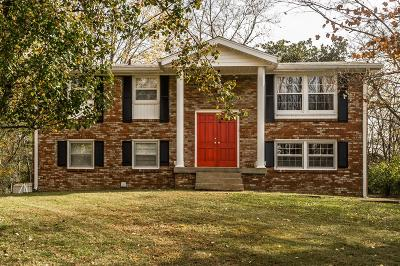 Old Hickory Single Family Home For Sale: 100 Highland Dr