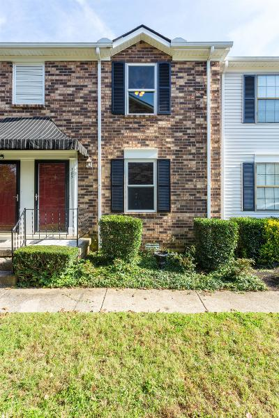 Hendersonville Condo/Townhouse For Sale: 185 Edgewood Dr #185