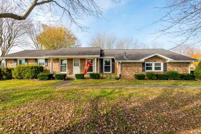 Davidson County Single Family Home For Sale: 7181 Bidwell Rd