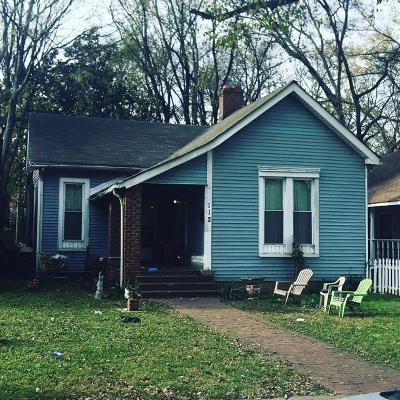Nashville Single Family Home For Sale: 112 Claiborne St