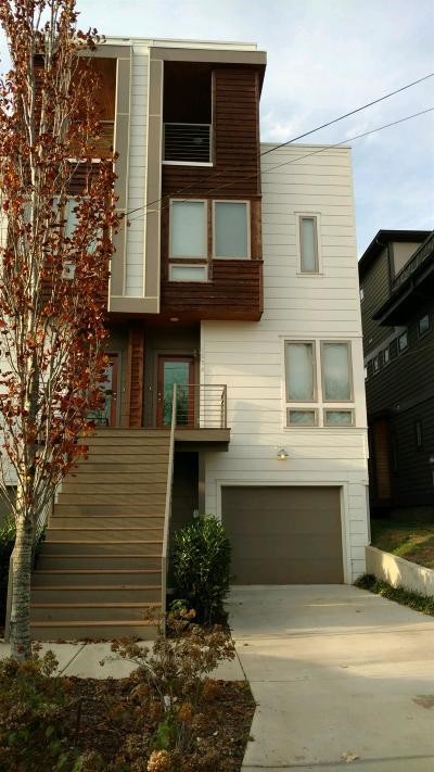 Nashville Single Family Home For Sale: 508 A Buchanan St