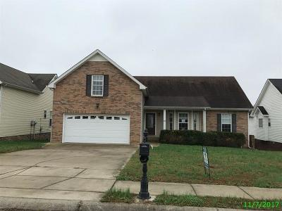Christian County, Ky, Todd County, Ky, Montgomery County Single Family Home For Sale: 704 Foxfield Dr