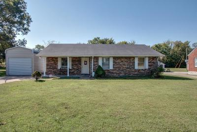 Watertown TN Single Family Home For Sale: $230,900