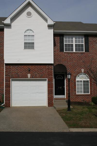 Old Hickory Condo/Townhouse For Sale: 5152 Southfork Blvd