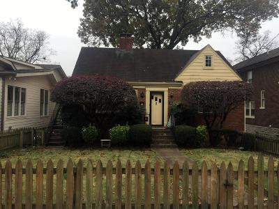 Nashville Single Family Home Under Contract - Showing: 1715 Sweetbriar Ave