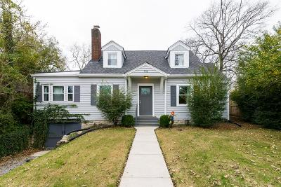 Nashville Single Family Home For Sale: 916 Maynor St