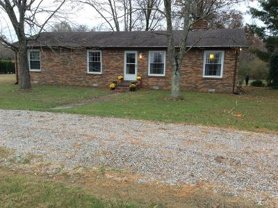 Woodbury Single Family Home For Sale: 884 Finnie Simmons Rd