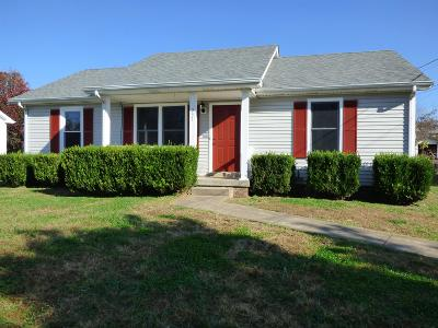 Clarksville Single Family Home Under Contract - Showing: 237 Tobacco Rd