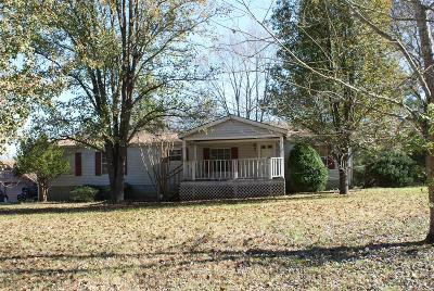 Wilson County Single Family Home Under Contract - Showing: 230 Davis Corner Rd
