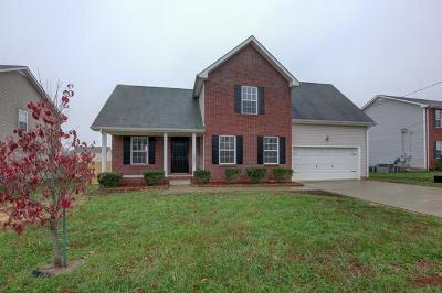 Christian County, Ky, Todd County, Ky, Montgomery County Single Family Home Under Contract - Not Showing: 986 Silty Dr