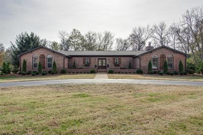 Brentwood Single Family Home For Sale: 6007 Johnson Chapel Rd